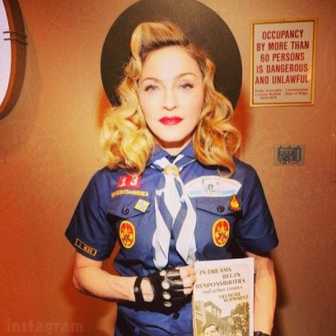 Madonna boy scout uniform GLAAD