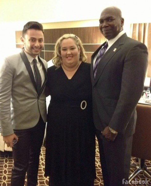Honey Boo Boo's Mama June Shannon at GLAAD Awards with dates
