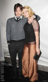 Norman Reedus Laurie Holden Daryl and Andrea from The Walking Dead