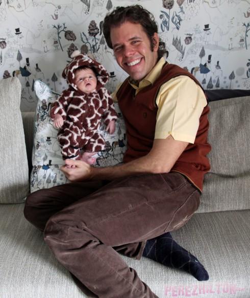 Perez Hilton's baby Perez Jr Mario Armando Lavandeira III