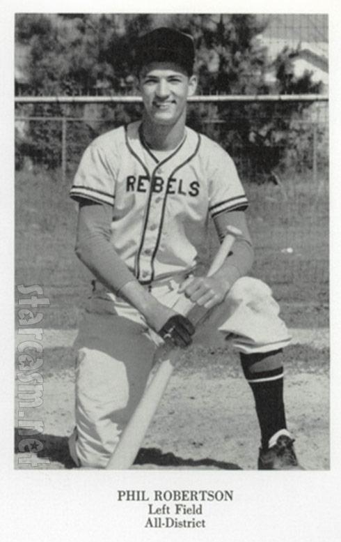 Duck Dynasty Phil Robertson baseball photo