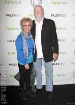 Hershel from The Walking Dead Scott Wilson and wife Heavenly Koh Wilson