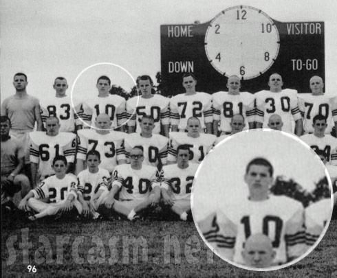 Duck Dynasty Si Robertson high school football photo