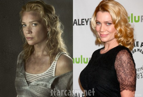 The Walking Dead Andrea actress Laurie Holden PaleyFest 2103