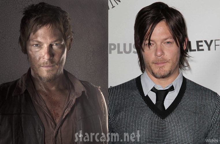 Photos The Walking Dead Cast At Paleyfest Side By Side With Amc Promo Images