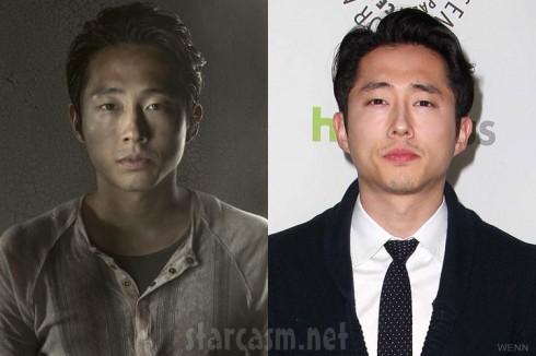 The Walking Dead Glenn Rhee actor Steven Yeun PaleyFest 2103