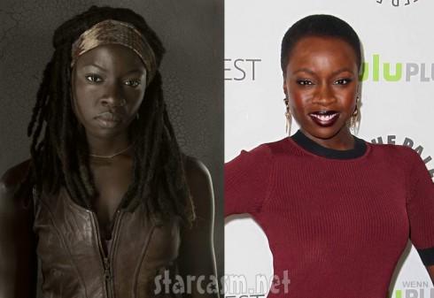 The Walking Dead Michonne actress Danai Gurira PaleyFest 2103