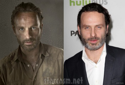 The Walking Dead Rick Grimes actor Andrew Lincoln PaleyFest 2103