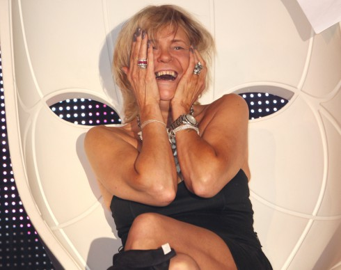Tan Mom Patricia Krentcil revisits XL nightclub in Manhattan again after her appearance last year.
