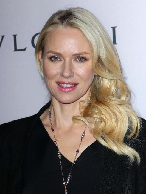 Naomi Watts attends BVLGARI celebration of Elizabeth Taylor's collection of BVLGARI jewelry at BVLGARI Beverly Hills.