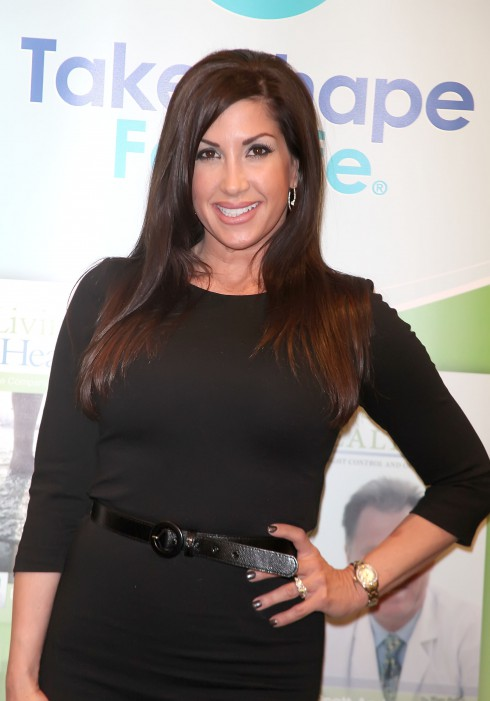 Jacqueline Laurita debuts her weight loss after following a Medifast health plan in New York City, USA.