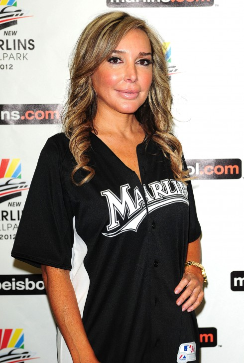 Marysol Patton at The Beach Boys with special guest John Stamos at Marlins Super Saturday Concert in Miami, Florida.