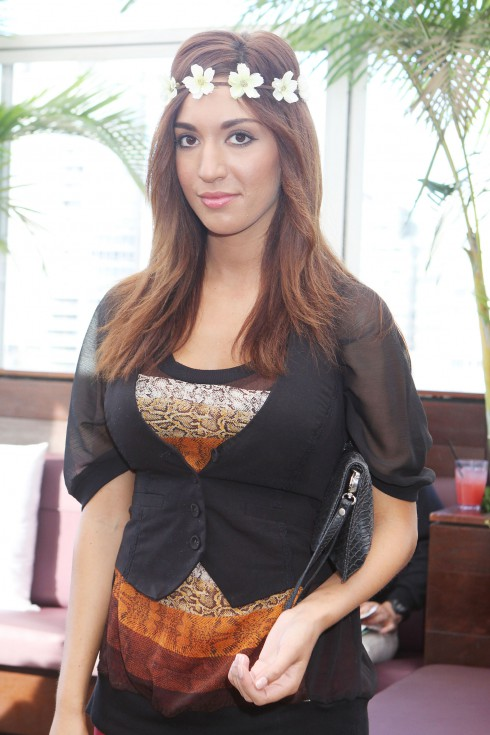 Teen Mom Star Farrah Abraham visits the Daily Style Boutique at the Empire Hotel in Los Angeles, California.