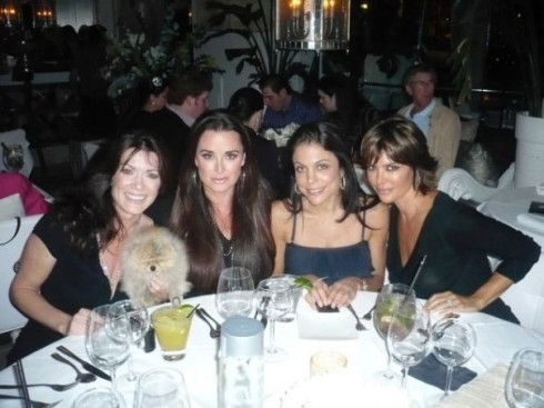 Lisa Vanderpump, Kyle Richards, Bethenny Frankel, and Lisa Rinna