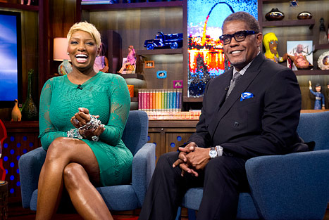 NeNe Leakes and Gregg on Watch What Happens Live