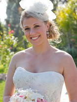 Jodie Sweetin in her wedding dress