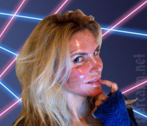 Brandi Glanville laser treatment laser portrait