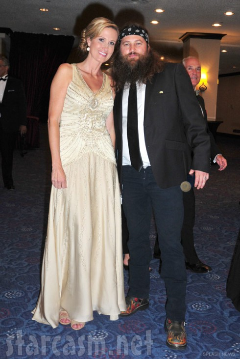 Korie Robertson Willie Robertson Duck Dynasty dressed up in DC