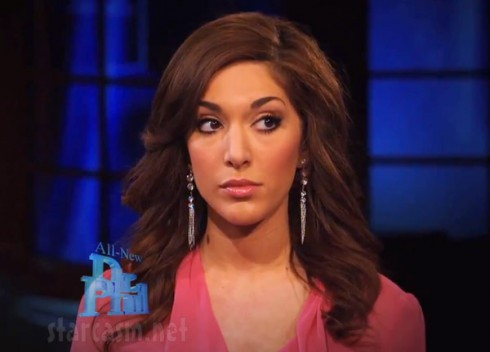 Former Teen Mom Farrah Abraham on Dr. Phil show
