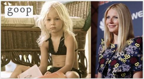 Gwyneth Paltrow childrens bikini line