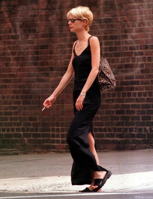 Gwyneth Paltrow Smoking a Cigarette