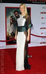 Gwyneth Paltrow Antonio Berardi sheer dress Iron Man 3 Premiere