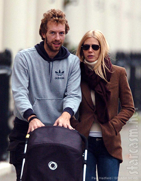 Chris Martin and Gwyneth Paltrow together