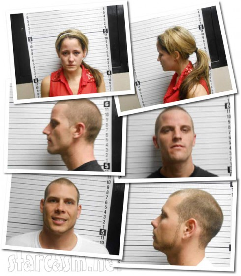 Jenelle Evans 2013 heroin arrest timeline with mug shot photos
