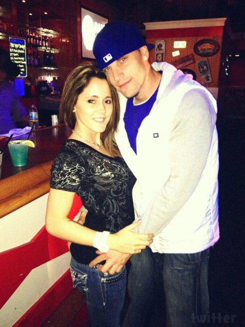 Jenelle Evans Courtland Rogers March 23 2013