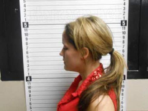 Teen Mom 2 Jenelle Evans mug shot heroin arrest 2013