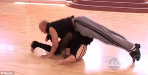 Hines Ward Accident on Dancing With the Stars