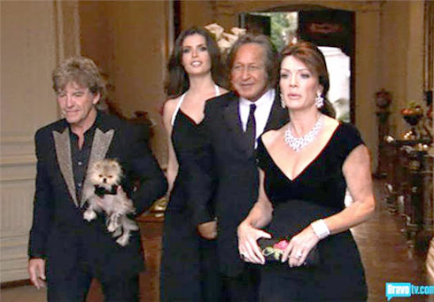 Mohamed Hadid on Real Housewives of Beverly Hills with Lisa Vanderpump Ken Todd and Giggy