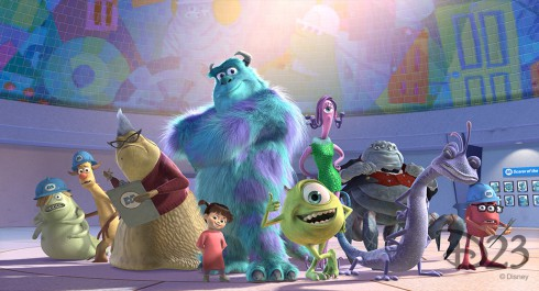 Characters in Monsters Inc.