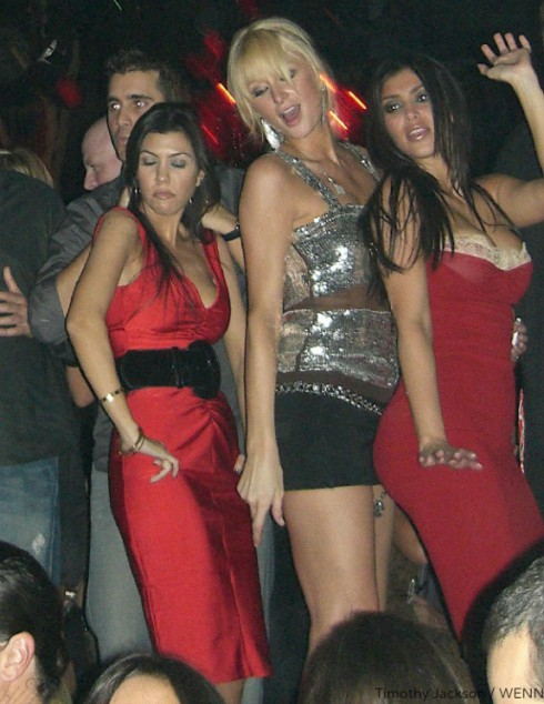 Paris Hilton and Kardashian Sisters