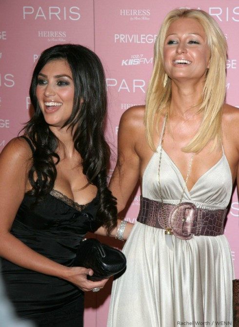 Paris Hilton and Kim Kardashian in 2006