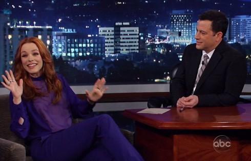 Rachel McAdams on Jimmy Kimmel