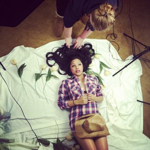 Buckwild Salwa Amin modeling photo
