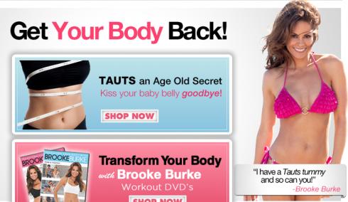 Brooke Burke Baboosh Tauts