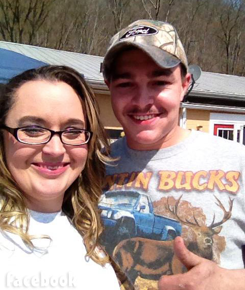 Shain Gandee general store opening with cousin Ashley Gandee Lewis