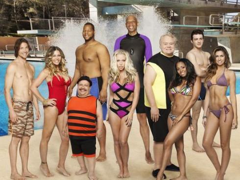 Contestants on Splash Diving Show