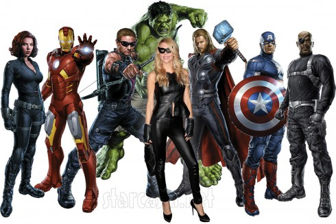 Brandi Glanville and The Avengers