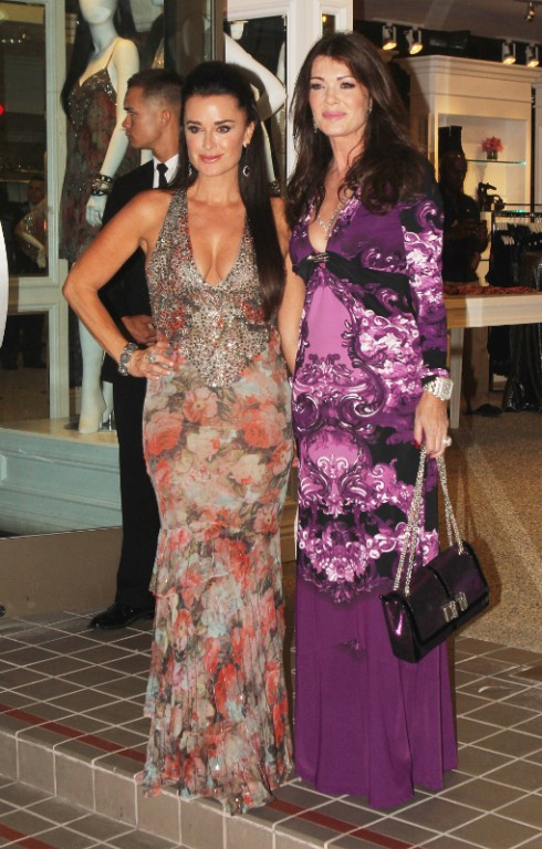 Kyle Richards and Lisa Vanderpump