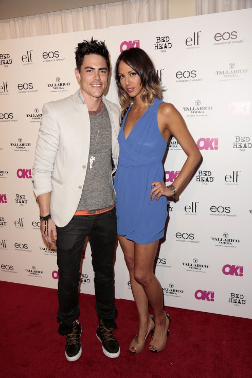 Tom Sandoval and Kristen Doute at OK! Magazine's SO SEXY event at Skybar at The Mondrian Hotel in Los Angeles, CA.