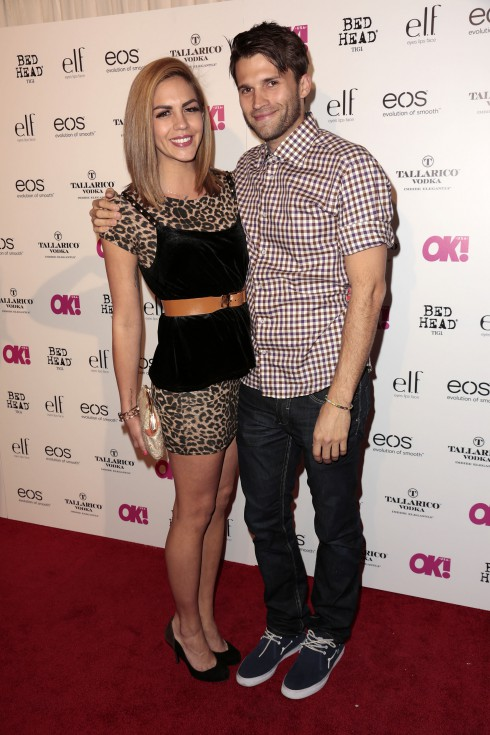 Katie Maloney and Tom Schwartz attends OK! Magazine's SO SEXY event at Skybar at The Mondrian Hotel in Los Angeles, CA.