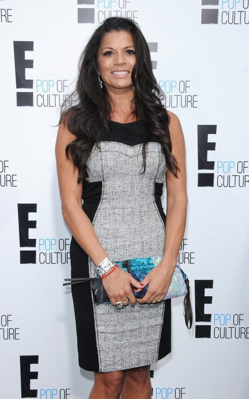 Dina Eastwood at the 2012 'E' upfront presentation in New York City, USA.I
