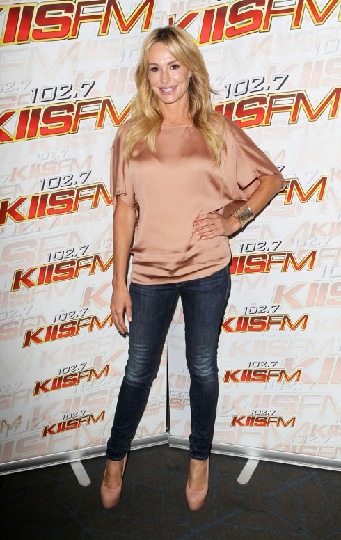 Taylor Armstrong at KIIS 102.7 Teen Choice Awards Lounge at The W Hotel in Los Angeles, California.