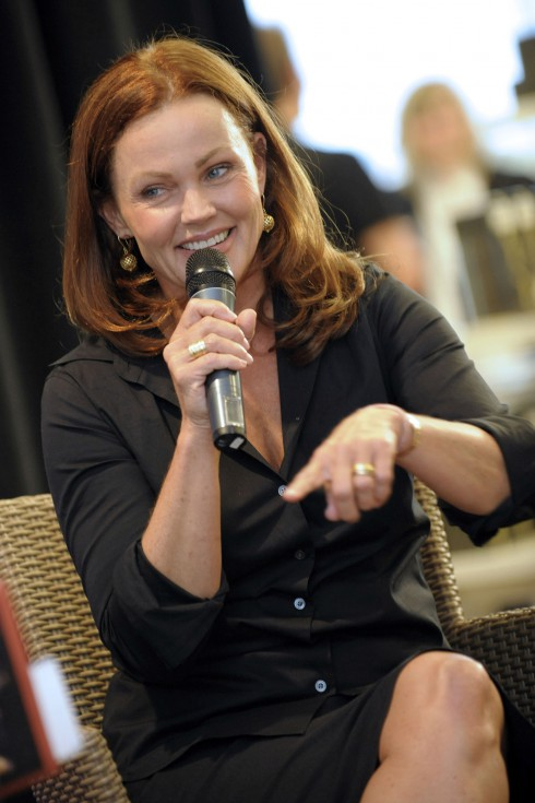 Belinda Carlisle signs copies of her new book 'Lips Unsealed: A Memoir' at the Indigo Eaton Centre in Toronto, Canada.