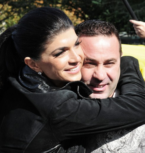 The Real Housewives of New Jersey stars Teresa Giudice and her husband Joe Giudice