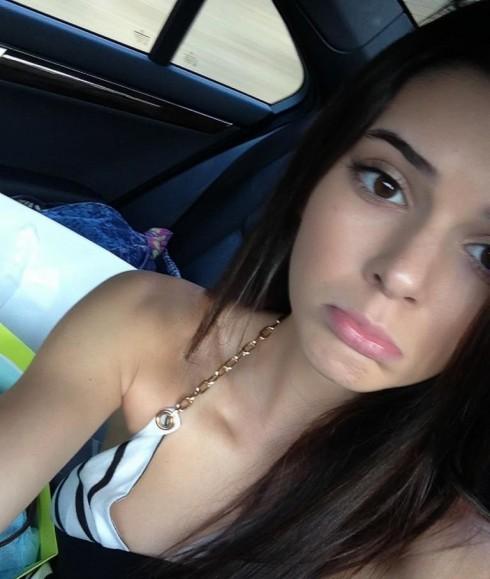 Kendall Jenner sad face on Twitter