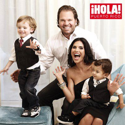 Rumored The Real Housewives of Beverly Hills star Joyce Giraud with her husband and two sons